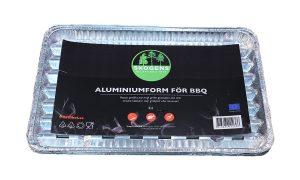 Aluminiumform 4st