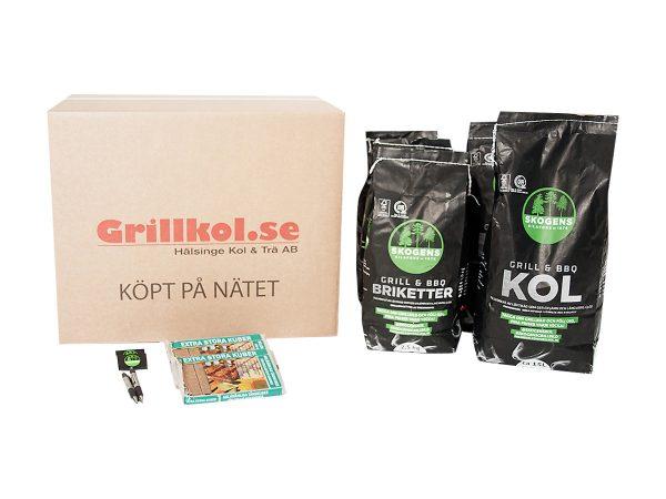 Kol–&-Grillbriketter